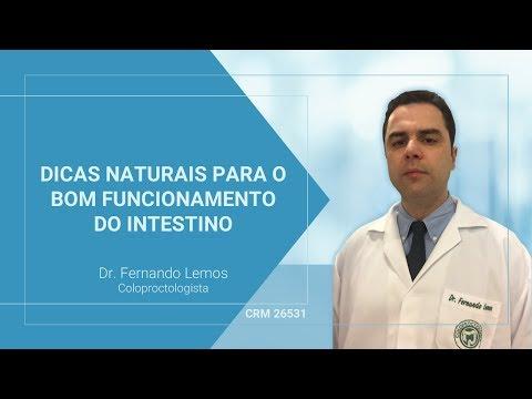 Dicas Naturais para o bom funcionamento do intestino