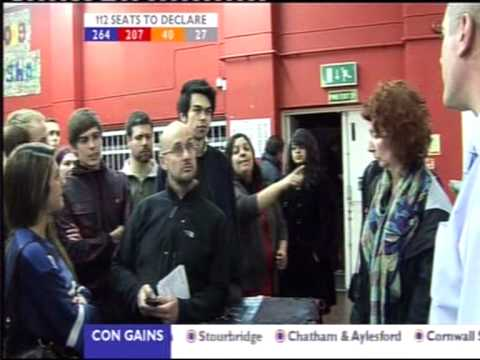 UK 2010 Elections Voters Turned away and chaos due to high turnout