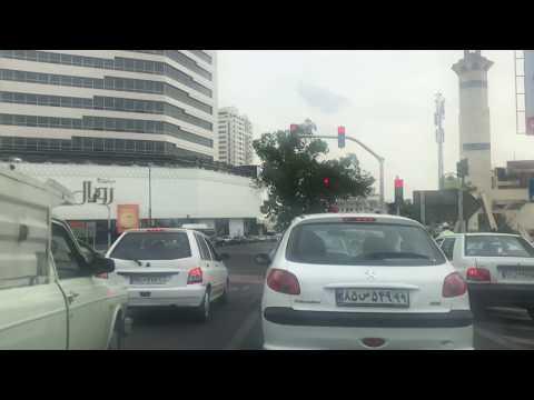 Driving in Tehran Iran 2018 - رانندگی در تهران