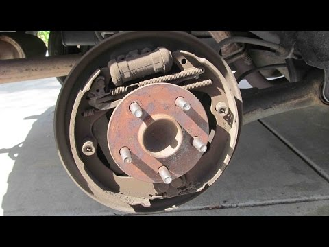 how to change the back dum brakes hyundai