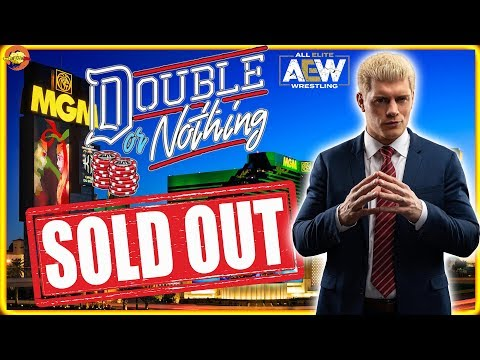 AEW Double or Nothing Sells Out in 4 Minutes!!!