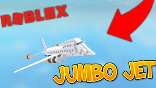 How To Build A JUMBO JET (Roblox Plane Crazy)
