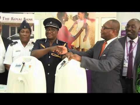 Royal Bank Donates Oxygen Concentrators To Police Hospital