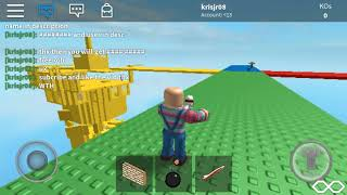 BEING CHUCKY IN ROBLOX?!