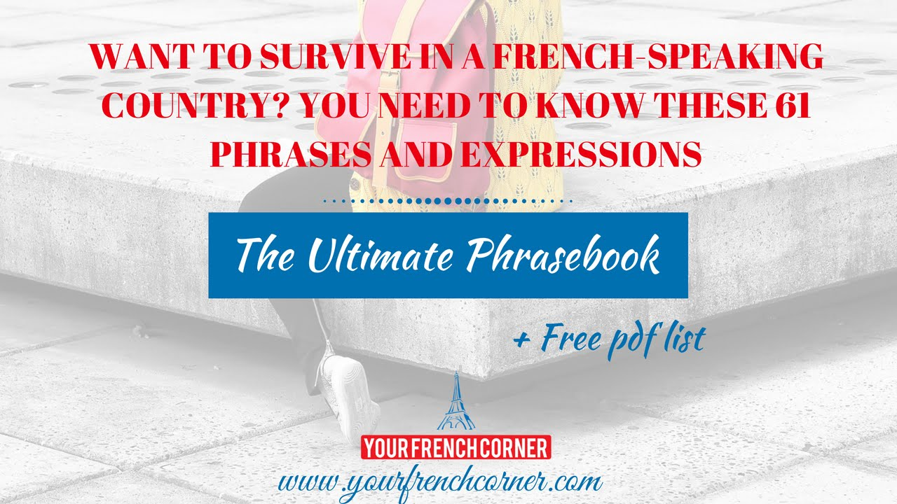 Basic French Phrases For Travel Pdf | Joshymomo org