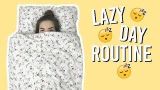 MOJA LENIWA RUTYNA/ MY LAZY DAY ROUTINE || Kompleksiara Xx