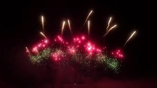 【正面から】上越 レルヒ祭2018 ミュージックスターマイン  信州煙火工業