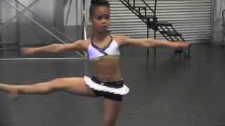 Exclusive: Asia Ray (Dance Moms) Dances / Improvises Christina Aguilera