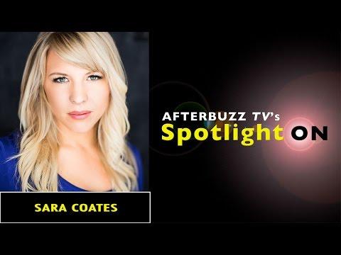 Sara Coates Interview | AfterBuzz TV's Spotlight On