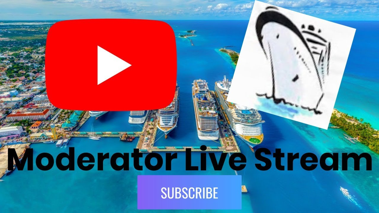 Live stream with Happy Cruising and others