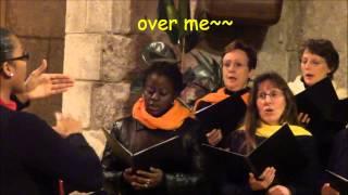 Vox Santona - Oh Freedom + Lyrics - Abbaye aux Dames 17 - 8 décembre 2012