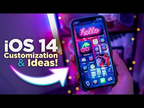 Ios 14 Aesthetic Homescreen Setup Guide And Ideas Youtube