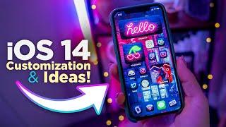 iOS 14 *Aesthetic Homescreen Setup Guide and IDEAS!