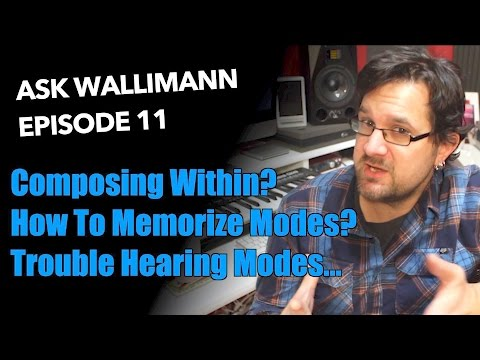 Composing Solos, Memorizing Modes, Hearing Modes - Ask Wallimann #11