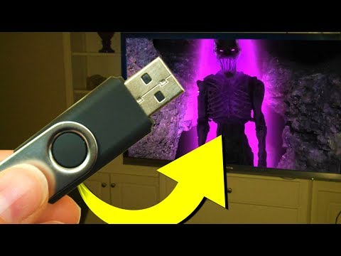 This is what I found on the abandoned Minecraft USB..