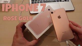 Déballage iPhone 7 Rose Gold