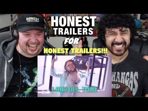 HONEST TRAILERS - HONEST TRAILERS (Written By A Robot) - REACTION!!! (W/ Epic Voice Guy)