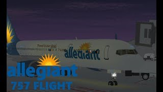[ROBLOX] - Allegiant Air 757 vol