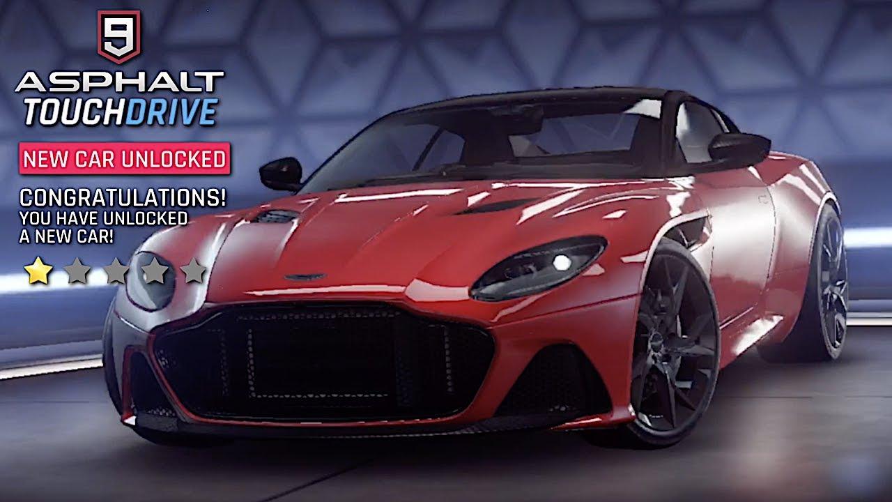 Asphalt 9 Legends Aston Martin Dbs Superleggera Unlocked Youtube