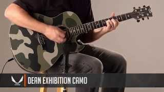 Dean Guitars Exhibition Camo Acoustic/Electric