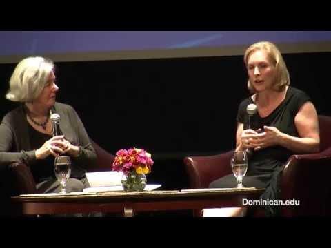 Senator Kirsten Gillibrand in conversation with Elaine Petrocelli