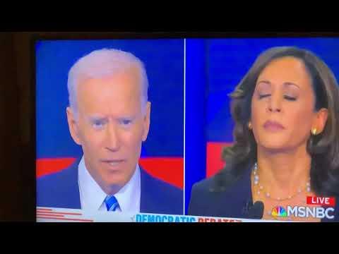 Joe Biden Responds To Kamela Harris On Blacks And Busing At Dem Debates 2