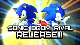 Sonic Generations - Sonic Boom Rival - Release
