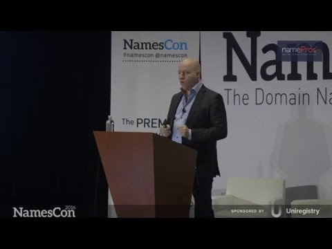 Escrow.com and Freelancer.com Keynote by Matt Barrie (NamesCon 2016 HD)