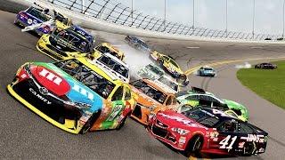 22 CAR CRASH!!! | Forza Motorsport 6 | NASCAR Expansion