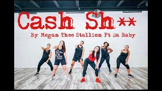 """Cash Ish"" By Megan The Stallion and Da Baby - Dance Fitness With Jessica"