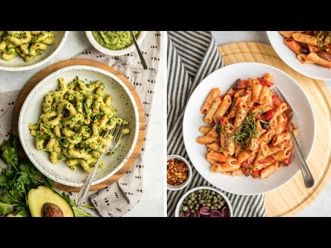 Cozy Vegan Pasta Recipes (Quick & Easy)