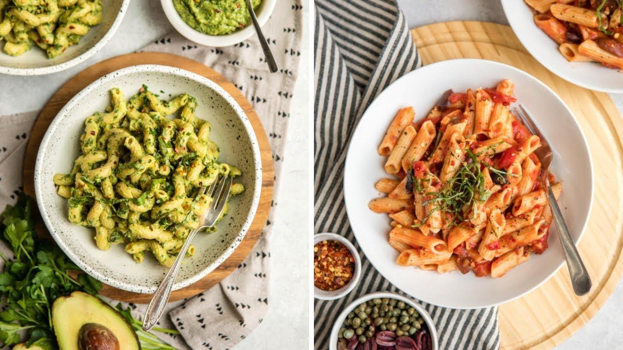 Cozy Vegan Pasta Recipes (Quick & Easy)