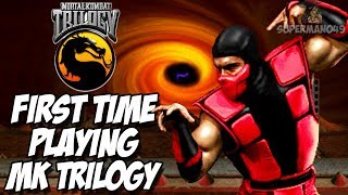 PLAYING MORTAL KOMBAT TRILOGY FOR THE FIRST TIME IN 18 YEARS - Mortal Kombat Trilogy: Ermac Gameplay