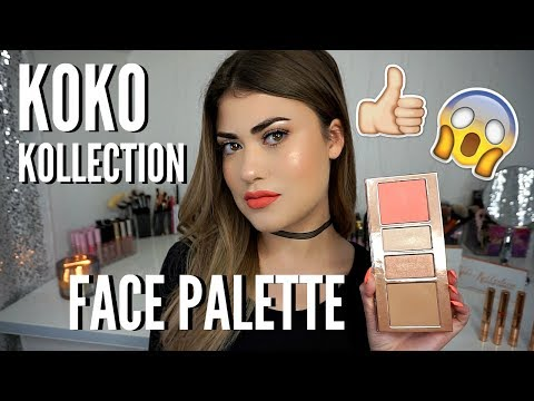 KYLIE COSMETICS KoKo Kollection FACE PALETTE - Review