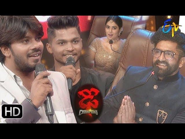 Dhee Champions | New Season | 18th September 2019 | latest Promo | ETV Telugu #Sudeer