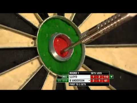 Colin Lloyd vs Beau Anderson - PDC World Darts Championships 2014 First Round