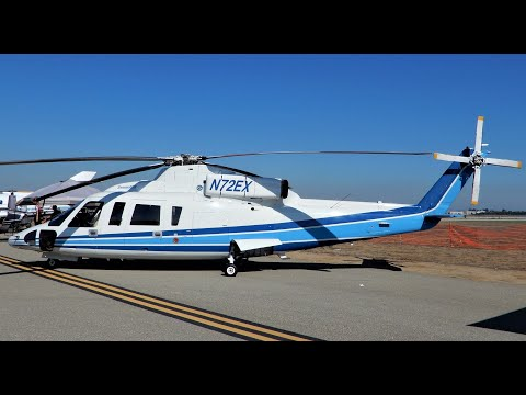 Kobe Bryant Exact Helicopter in Crash & Video of the same Model he was in - Sikorsky S-76