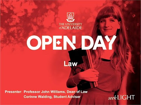 Law: Our community, your future - Open Day 2015