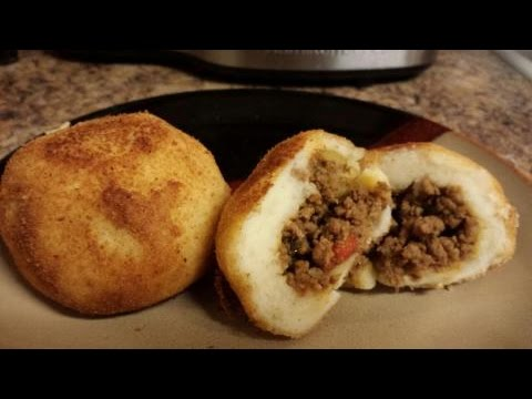 How To Make Stuffed Potato Balls