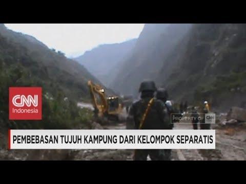 Pasukan TNI Bebaskan 7 Kampung dari Kelompok Separatis di Kawasan Freeport, Papua