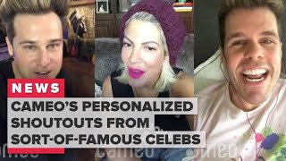 Get personalized video shoutouts from sort-of-famous celebs with Cameo