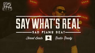Deep Hip Hop Instrumental (Drake Type Beat) 2015 - SAY WHAT