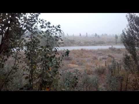 22.07.2016 дождь в г. Токмок - ( 3- мик-район )