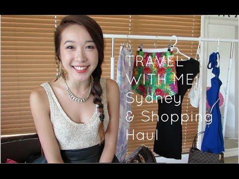 Travel With Me: Sydney & Shopping Haul | Jenny Zhou