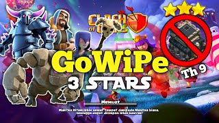 Clash of clans-Strategi attack Wars 3 stars with GoWiPeWi | Clash Of Clans