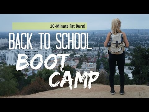 Back To School Boot Camp | 20-Minute HIIT | MFit
