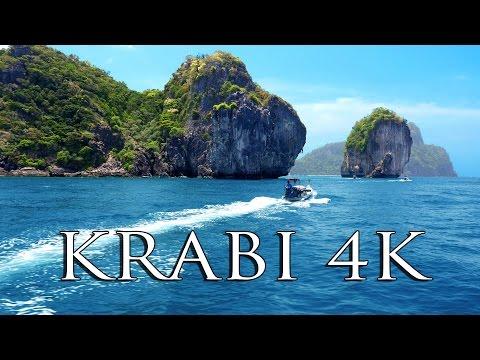 KRABI THAILAND (3 days in 4K!!) MUST SEE tourist spots