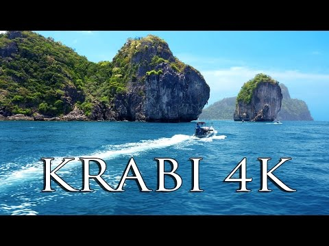 KRABI THAILAND (3 days in 4K!!) MUST SEE tourist spots