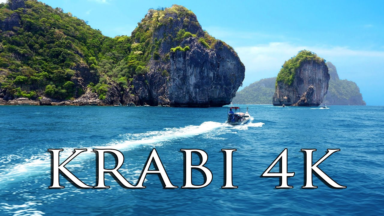 KRABI THAILAND 3 Days In 4K MUST SEE Tourist Spots