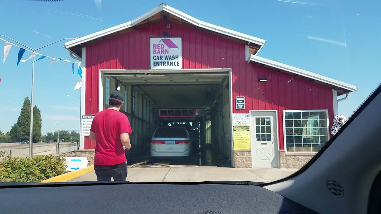 Car Wash Barn >> Red Barn Car Wash In Oregon City
